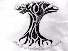 tribal tree tattoo 2015