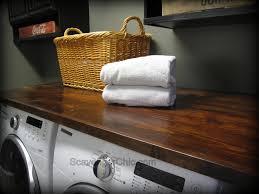 wood countertop diy scavenger chic diy wood countertop