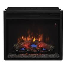 shop electric fireplace inserts at lowes com
