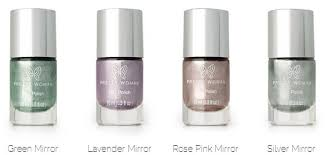 rose pink mirror nail polish high shine metallic nail polish