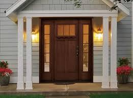 Fiberglass Exterior Doors With Sidelights Rustic Style Fiberglass Entry Doors With Sidelights Exterior