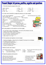 Coordinating And Subordinating Conjunctions Worksheets 2856 Free Esl Present Simple Tense Worksheets