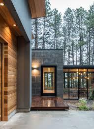 northern minnesota lake house by strand design contemporist