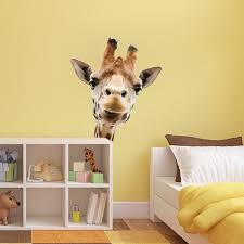 Giraffe Wall Decals For Nursery Giraffe Wall Mural Decal Animal Wall Decal Murals Primedecals