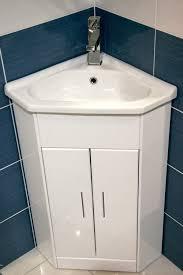 Corner Basins With Vanity Unit White Compact Corner Vanity Unit Bathroom Furniture Sink Cabinet