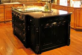 powell kitchen islands enthralling powell pennfield distressed black kitchen island