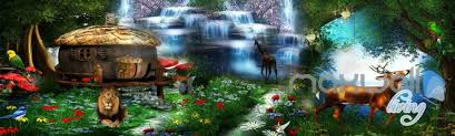 3d forest animals fantacy world entire room bedroom wallpaper wall 3d forest animals fantacy world entire room bedroom wallpaper wall mural art idcqw 000222
