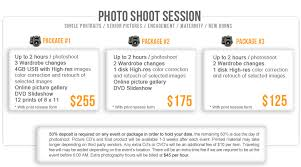 photography packages event prices and packages hp snapworks photography