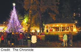 Heritage Park Christmas Lights City Of Centralia Wa Events U0026 Festivals