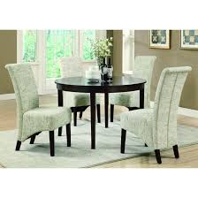 chintaly gina dt white gray lacquer parson extendable dining table