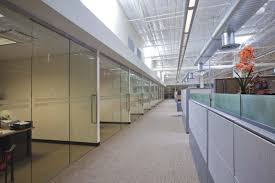 glass partitioning at exa networks bradford west yorkshire