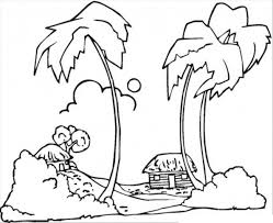 tropical beach coloring pages the 25 best beach coloring pages ideas on pinterest summer
