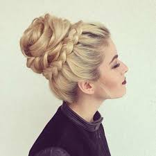 boy wears his hair in an updo 31 most beautiful updos for prom high bun crown braids and prom night