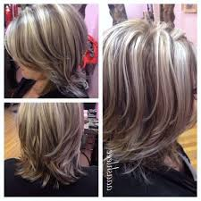 highlights for gray hair photos highlights and lowlights for gray hair hair styles inspiration