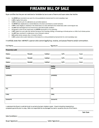 Free Event Planner Contract Template Firearm Bill Of Sale Free Printable Gun Bill Of Sale Forms In