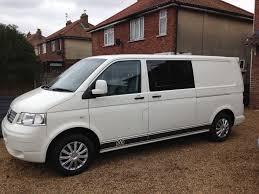 vw minivan camper vw transporter t5 lwb window van camper van day van 2006 tailgate