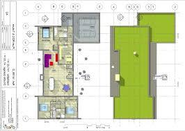 plan plain pied 2 chambres plan de maison 2 chambres plan habill etage maison maison moderne