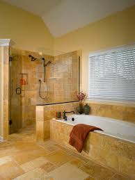 modern style corner tub bathrooms with glass modern style shower