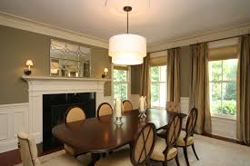 ideas elegant drum chandelier for modern dining room lights