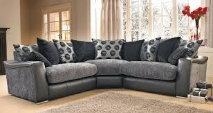 Dfs Furniture Armchairs Lowri Corner Sofa Like Dfs Black Grey Gray Big Houses And