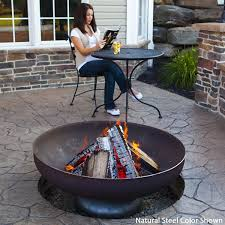 Wood Firepits The Patriot Wood Burning Bowl Steel