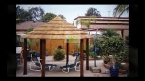 bali huts sydney balinese gazebos with thatch roofs video