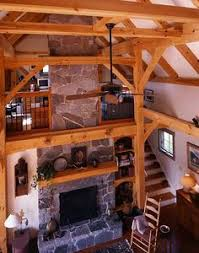 Pole Barn Loft Plans Pole Barn Interior Finishing Timber Frame Farm House And Guest