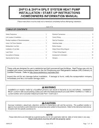 ducane hvac 2hp13 user u0027s manual