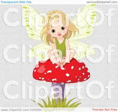 royalty free vetor clip art illustration of a cute fairy
