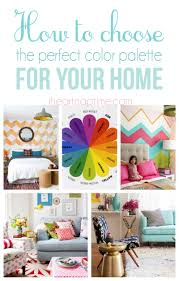 how to choose a color palette for your home i heart nap time