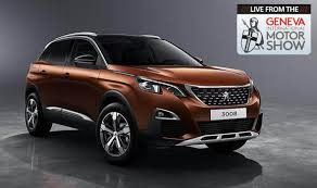 peugeot cars models peugeot 3008 suv new 2017 model wins car of the year at geneva