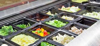 Buffet Salad Bar by Mobile Buffet Salad Bar Self Serve Bain Marie Gn Series
