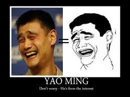 Yao Ming Face Meme - memesnba bitch please