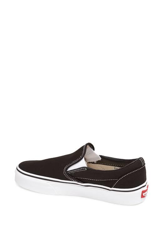 Vans Classic Slip-On (Black) Skate Shoes-13