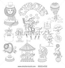 circus animal stock illustration 161962835 shutterstock
