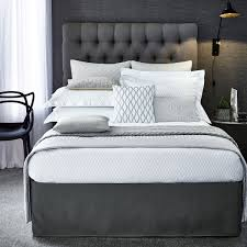 luxury hotel bedding peacock blue hotel bed linen at bedeck 1951