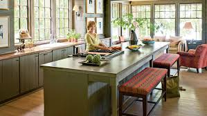 Large Kitchen With Island Stylish Kitchen Island Ideas Southern Living