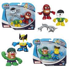 Potato Head Kit Disguise Marvel Mash Ups Potato Heads Wave 1 Hasbro Marvel