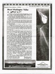 bureau de change chs ys s mount washington valley history october 2014
