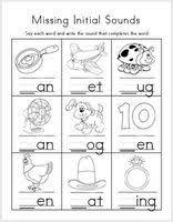 32 best initial u0026 final sounds images on pinterest kindergarten