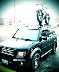 2007 Honda Element Roof Rack by Fat Bike On Roof Rack Mtbr Com