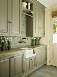 2 Colour Kitchen Cabinets Antique Sage Green Cabinets Kitchen Pinterest Kitchens Sage
