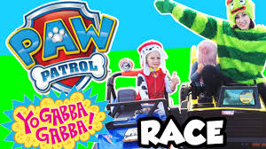 paw patrol power wheels paw patrol vs yo gabba gabba power wheels race power wheels jeep