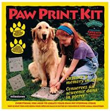pet paw print kit pet care products pet supplies