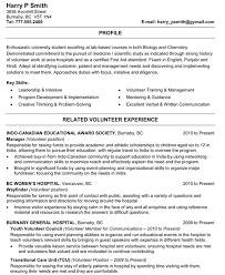 Resume Examples Volunteer Work resume samples scientist plush design ideas biology resume 14