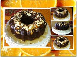 german chocolate caramel rum cake with almonds u0026 cranberries