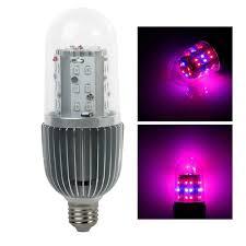 28w e27 base led grow light bulb 360 degree lighting 20red 8blue