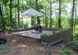 backyard slope landscaping ideas 10 best deck ideas images on pinterest backyard ideas balcony
