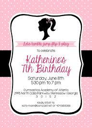 Barbie Invitation Card Shilo Lynn Prints Katherine Barbie Birthday Invitation