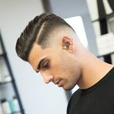 hard parting haircut hard part haircut men s haircuts hairstyles 2018